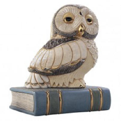 Owl on Book