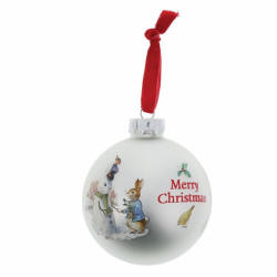 Peter Rabbit and Snow Rabbit Bauble