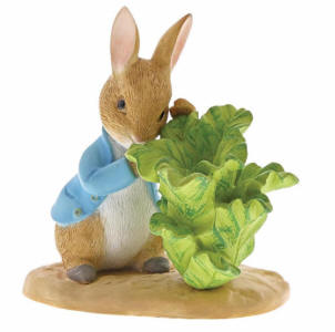 Peter Rabbit with Lettuce