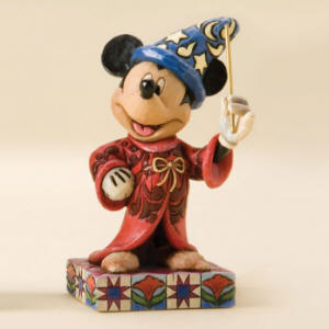 Sorcerer Mickey Touch Of Magic-Sorcerer Mickey Personality Pose Figurine