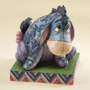 True Blue Companion-Eeyore Personality Pose Figurine