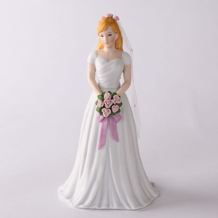 Growing Up Girls Bride Blonde