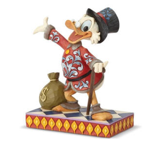 Image result for Disney Traditions General Collection Scrooge with Money Bank