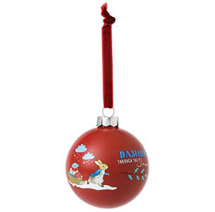 Image result for beatrix potter Peter Rabbit Peter Rabbit Merry Christmas Bauble A29526