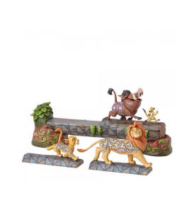 Image result for Disney Traditions General Collection Simba,Timon & Pumbaa on Log