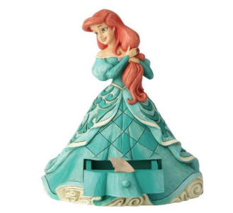 Jim Shore Disney Traditions - Ariel with Shell Charm