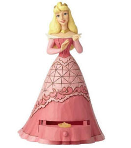 Jim Shore Disney Traditions - Aurora with Tiara Charm