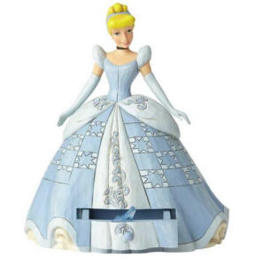 Jim Shore Disney Traditions - Cinderella with Shoe Charm