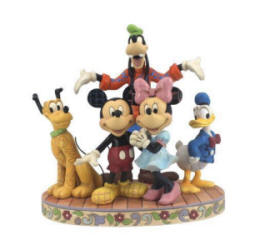 New Enesco Disney Traditions Fab Five Figurine